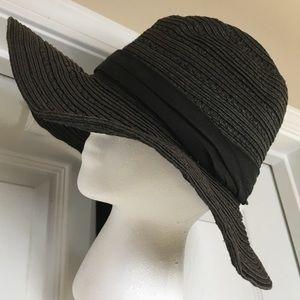 Floppy woven hat, size M/L